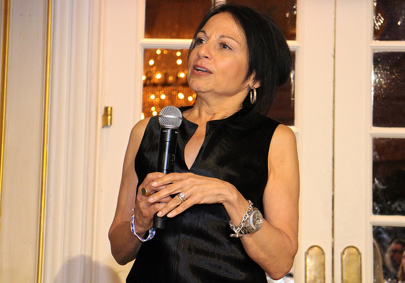Speaking at the 21 Leaders For The 21st Century event (Women's eNews)