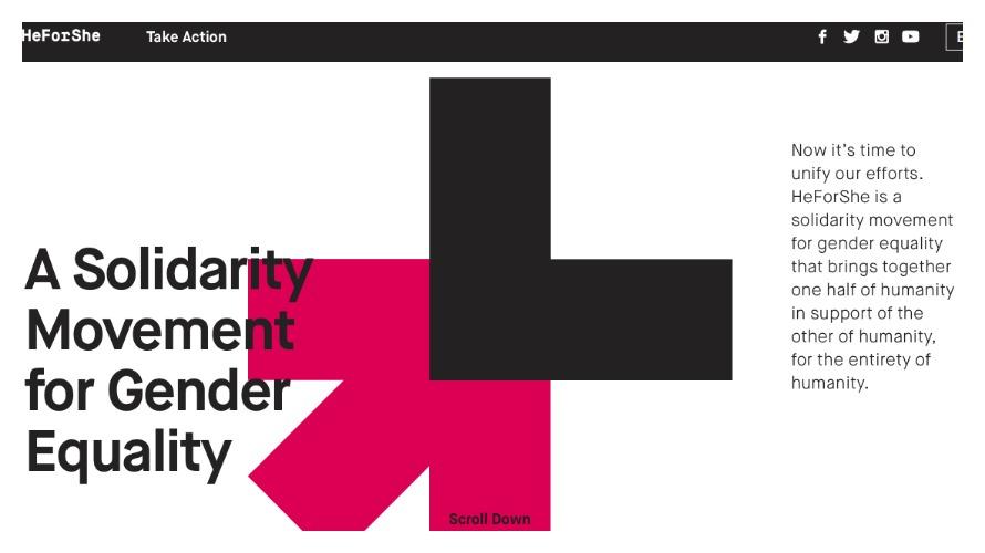 The HeForShe Movement (HeForShe.org)