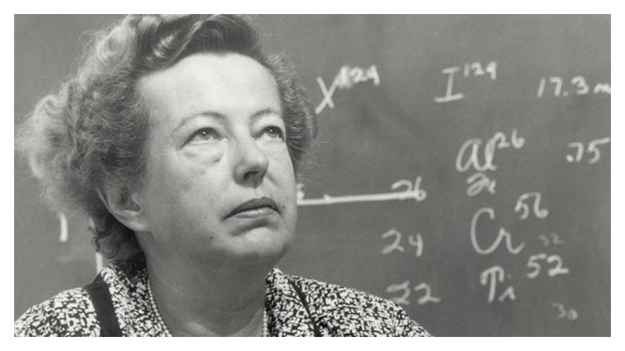 Maria Goeppert Mayer (photo: A Year Of Women)