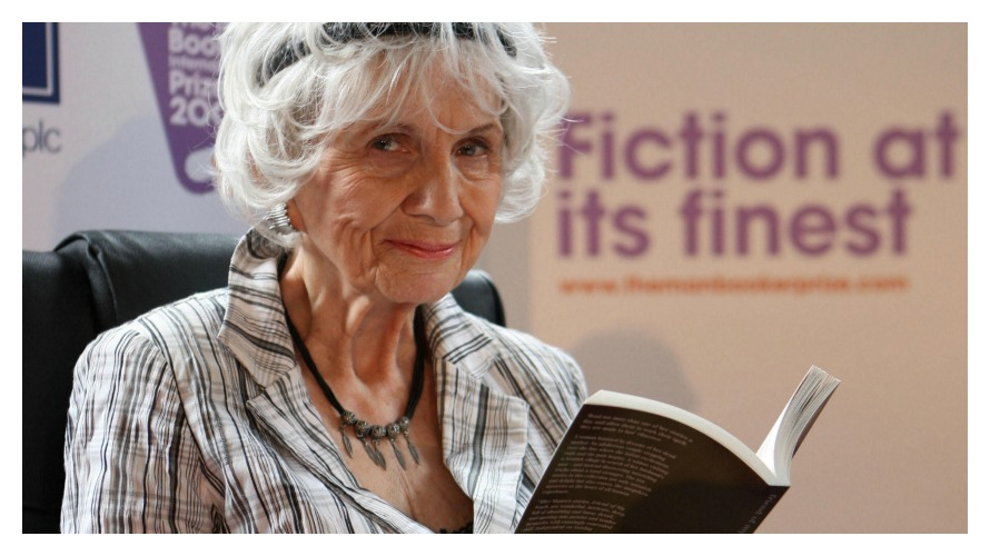 Alice Munro (photo: NPR)