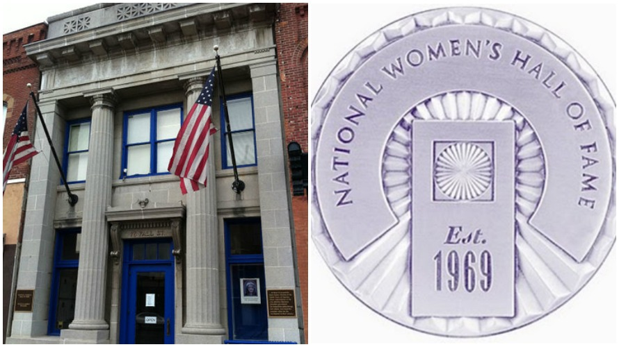 The National Women's Hall of Fame located in Seneca Falls, NY (photo: NewYorkTraveler.net)