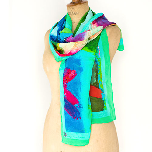 Miss Bouvier Silk Scarf (Small)