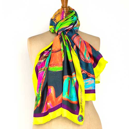 First Lady Silk Scarf (Large)